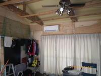 エアコン取り付け終了 - 名古屋市の不動産情報をお届けします。大丸屋不動産:古民家再生中!