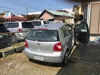 秦野市から不動車の外車をレッカー車で廃車の出張引き取りしました。 - 廃車戦隊引き取りレンジャー