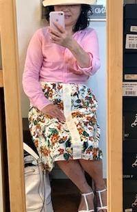 トロピカルスカート - 着まわせない