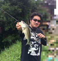 7月9日  アニキをガイド♪(´ε` ) - まめまめの石川県バス釣り奮闘記
