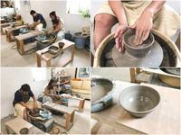 本日の陶芸教室 Vol.709 - 陶工房スタジオ ル・ポット