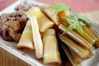 ■季節料理【蕗と真竹と油麩の煮物】 - 「料理と趣味の部屋」
