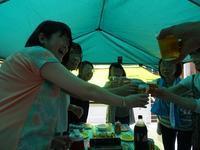 1707-085:大雨もBBQ日和に変える晴れ女達 - ブーヤンとボク☆達との日々