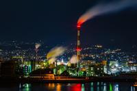 工場夜景 静岡県 - 風景写真家みっちいいい