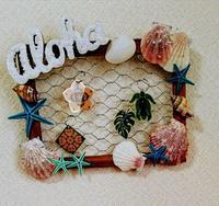 貝殻とグルーガンで夏の手作り - AssortClothのハンドメイドダイアリー