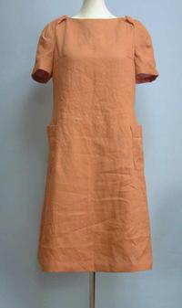 麻のワンピース - 私のドレスメイキング