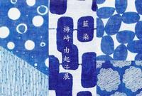藍染 梅崎由起子展 - niwa-style