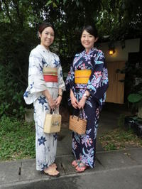 2年ぶりですね、今回は浴衣の時期に。 - 京都嵐山 着物レンタル&着付け「遊月」