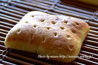 パンを楽しむ会と湯種食パン - 森の中でパンを楽しむ