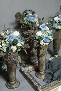 芦屋からアンティークプリザの風が…さわわ - お花に囲まれて
