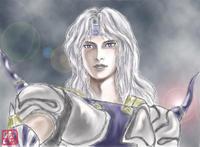 暗黒騎士からパラディンへ - えありすのお絵描き帳