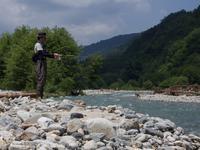 増水中の高瀬川散策 - S.2のフィールド日記