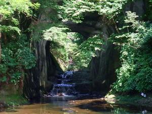 燈籠坂大師の切通しトンネル・濃溝の滝・海ぼたる -