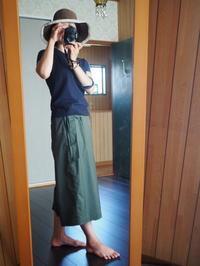 ラップスカンツを履いてみました - めいの日々是好日