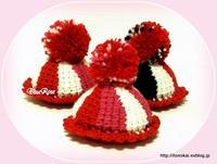 アフガン編みのピンクッションできました♪ - ルーマニアン・マクラメに魅せられて