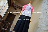 """2017 Summer Style New for Sale!... 7/10mon"" - SHOP ◆ The Spiralという館~カフェとインポート雑貨のある次世代型セレクトショップ~"