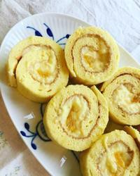 オレンジカスタードロールケーキ - 調布の小さな手作りお菓子・パン教室 アトリエタルトタタン