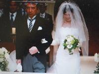 長女 佳織 結婚式 - 山猿の独り言