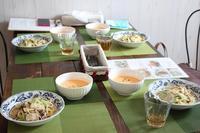 7月「おうちカフェコース」レッスン - 海辺のイタリアンカフェ  (イタリア料理教室 B-カフェ)