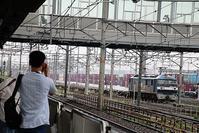 藤田八束の鉄道写真@岸辺駅にて鉄道写真撮影、貨物列車に夢中です - 藤田八束の日記
