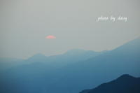 霞む夕日 - ロマンティックフォト北海道☆カヌードデバーチョ