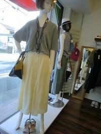 モードに着たい夏のロングスカート・・・・☆ - 今日のdureine