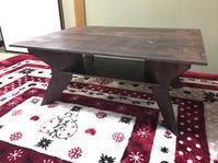 自作テーブル - キャンプ道具