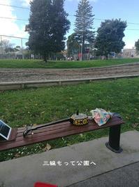 公園で三線 - Tangled with・・・・・