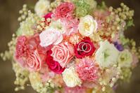 新郎新婦様からのメール 京王プラザホテルの花嫁様より、ブーケのその後1 - 一会 ウエディングの花