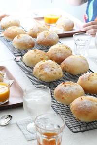 【レッスンレポ】BREAD LESSON6.7月 - パンとアイシングクッキー、マシュマロフォンダントの教室 launa