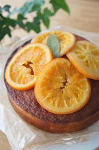 酵母ケーキ orange - パンとアイシングクッキー、マシュマロフォンダントの教室 launa