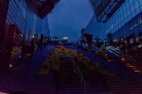 京都駅ビルグラフィカルイルミネーション~祇園祭 - 鏡花水月