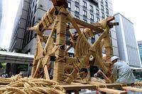 祇園祭2017 長刀鉾 鉾建て - 花景色-K.W.C. PhotoBlog