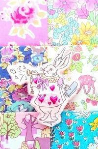怒濤の?! 「リバティ・チャレンジ365」 / 手作りガーゼハンカチセット - Mrs.Piggle-Wiggle's lemon drops