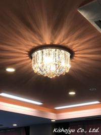 小ぶりながら、しっかり輝いています! - シャンデリアなどの照明器具や輸入建材を販売している<株式会社吉祥樹>のブログです。