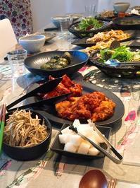 ヤンニョムチキンクラス、ラスト3! - 今日も食べようキムチっ子クラブ (我が家の韓国料理教室)