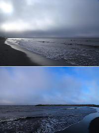 2017/07/11(TUE) 雲の流れがはやい朝です。 - SURF RESEARCH