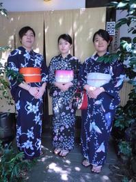 香港から来られました、初めての浴衣姿で。 - 京都嵐山 着物レンタル&着付け「遊月」