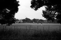 公園のグランド - そぞろ歩きの記憶