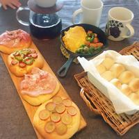 朝ごはんにお豆腐生地ピザ - The color to life  ーくらしに彩りをー