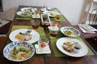 イタリアンコースレッスン - 海辺のイタリアンカフェ  (イタリア料理教室 B-カフェ)