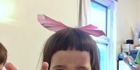 3歳女子 - 烏帽子への風
