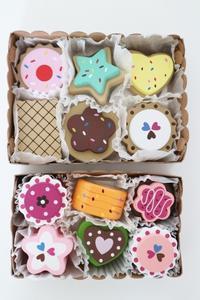 おいしそうなおもちゃのクッキー&ケーキのセット☆ - ドイツより、素敵なものに囲まれて②
