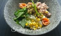私のお昼ごはん - 料理研究家ブログ行長万里  日本全国 美味しい話