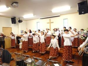 祝福いっぱいの創立記念礼拝!感謝致します! -