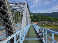 紀ノ川のほとりで町に出会う。 - My Cycling Diary