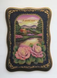 ペイントフレンド Vol.14 掲載作品です。 「花香る頃」 - 大畑悦子の想い出ペインティング