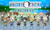 PICTLOGICA FINAL FANTASY ≒ (その1) - 日々ゲームあるのみ