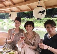夏の風物詩✨京都・嵐山での鵜飼✨ - 八巻多鶴子が贈る 華麗なるジュエリー・デイズ