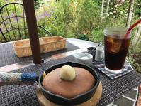 ★38ガーデンカフェ★超キュートなパンケーキ屋さん&yuu旅育の成果をみた - 続・まいにちわたし